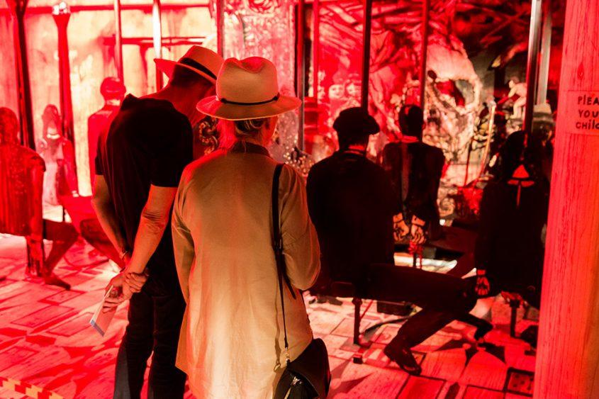 Fabian Fröhlich, Biennale di Venezia, 2019, Giardini, Russian Pavilion, Alexander Shishkin-Hokusai, The Flemish School