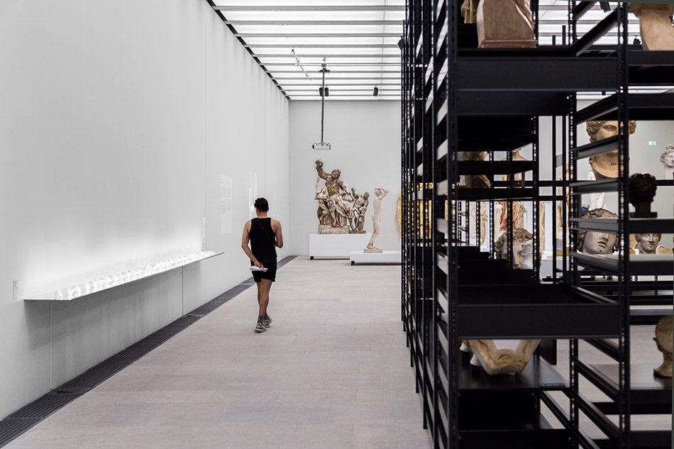 Ausstellung Nah, am Leben, 200 Jahre Gipsformerei, James-Simon-Galerie,