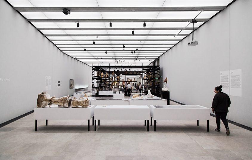 Ausstellung Nah, am Leben, 200 Jahre Gipsformerei, James-Simon-Galerie