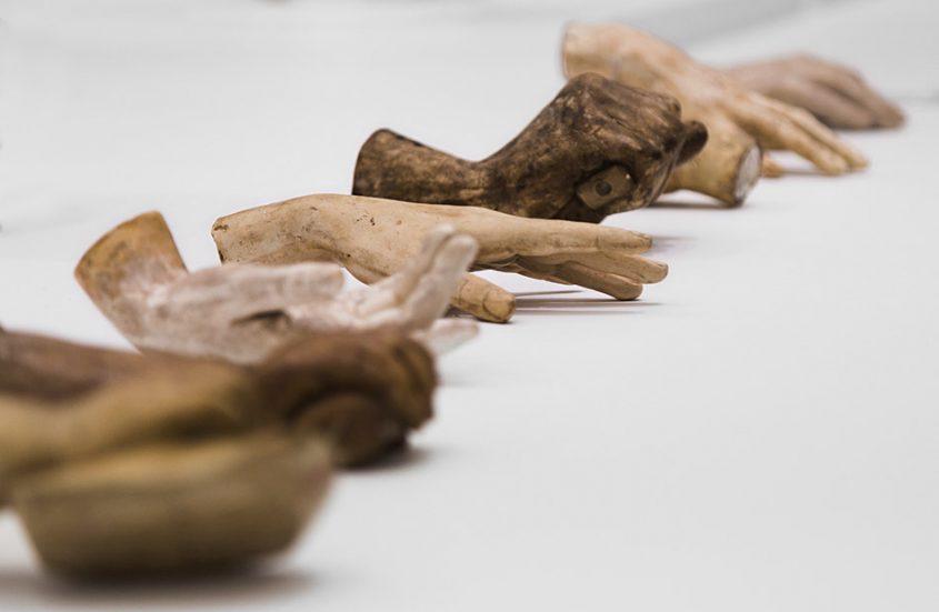 Ausstellung Nah, am Leben, 200 Jahre Gipsformerei, James-Simon-Galerie, Hände