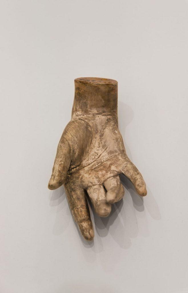 Ausstellung Nah, am Leben, 200 Jahre Gipsformerei, James-Simon-Galerie, Hand