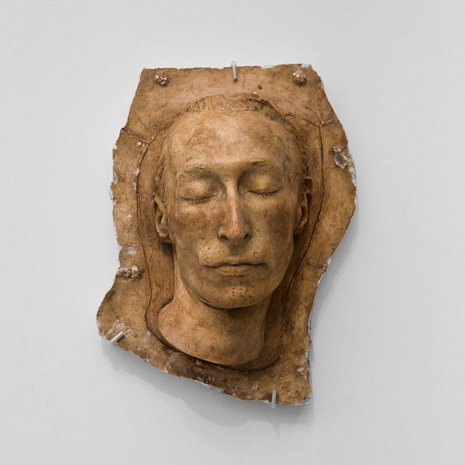 Ausstellung Nah, am Leben, 200 Jahre Gipsformerei, James-Simon-Galerie, Totenmaske Carl Maria von Weber