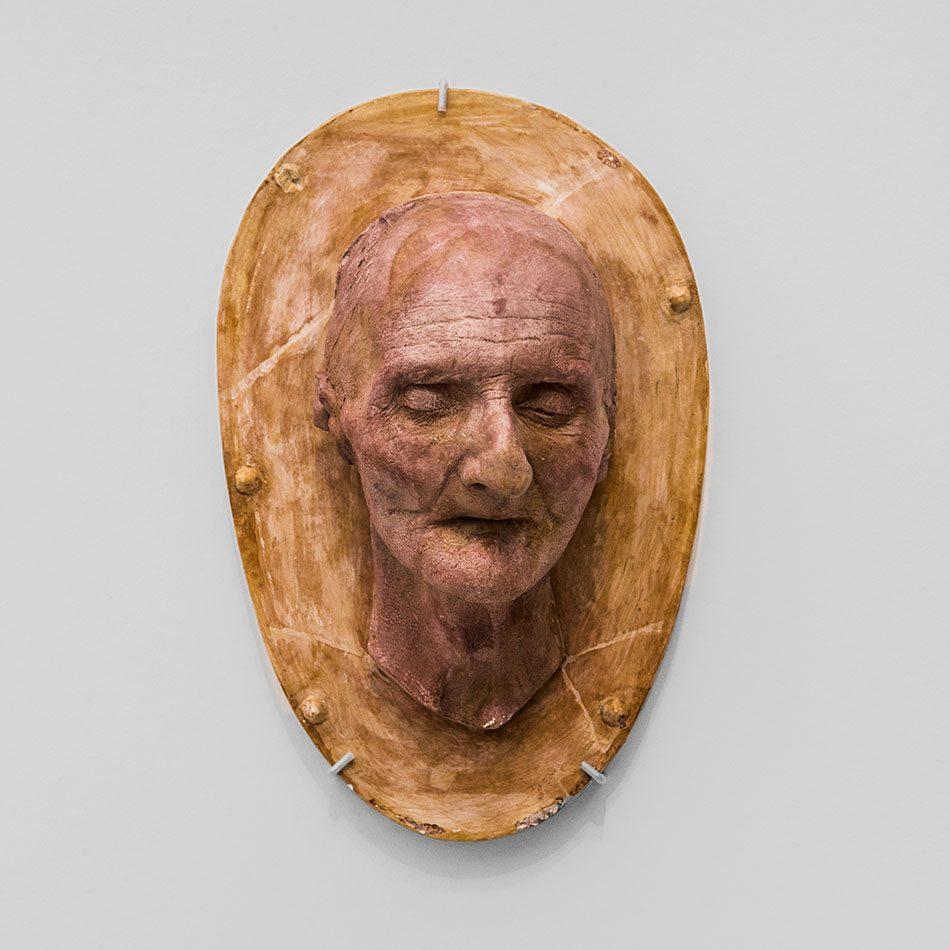 Ausstellung Nah, am Leben, 200 Jahre Gipsformerei, James-Simon-Galerie, Totenmaske Anton Bruckner
