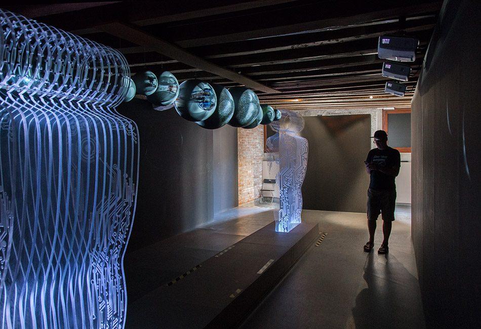 Fabian Fröhlich, Venedig, Biennale di Venezia, Palazzo Lezze, Azerbaijan Pavilion, Zarnishan Yusif, Bubble Reflection