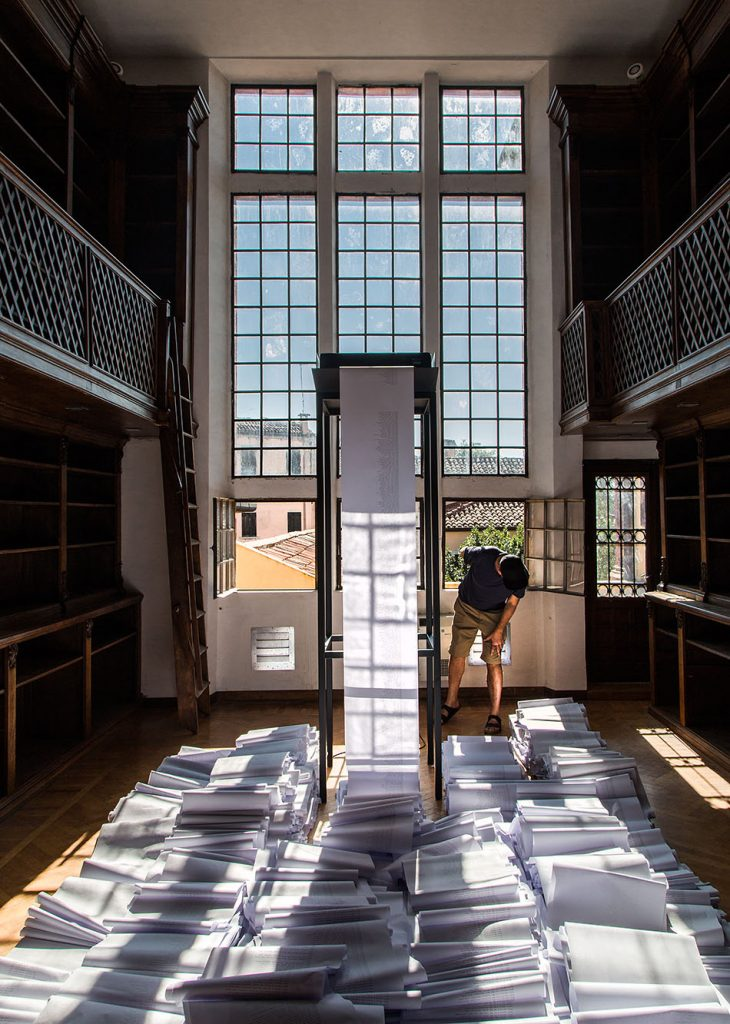 Fabian Fröhlich, Venedig, Biennale di Venezia, Newzeeland Pavilion, Dane Mitchell, Post hoc