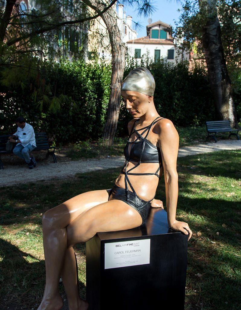 Fabian Fröhlich, Venice, Exhibition Personal Structures, Giardini della Marinaressa, Personal Structures, Carol Feuerman, Kendal Island