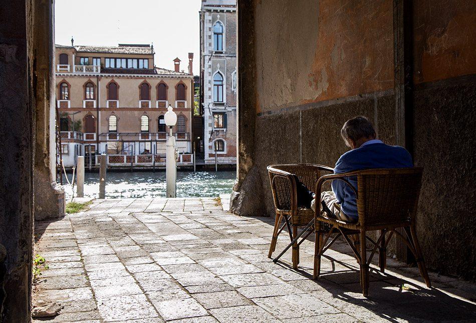 Fabian Fröhlich, Venedig Canal Grande
