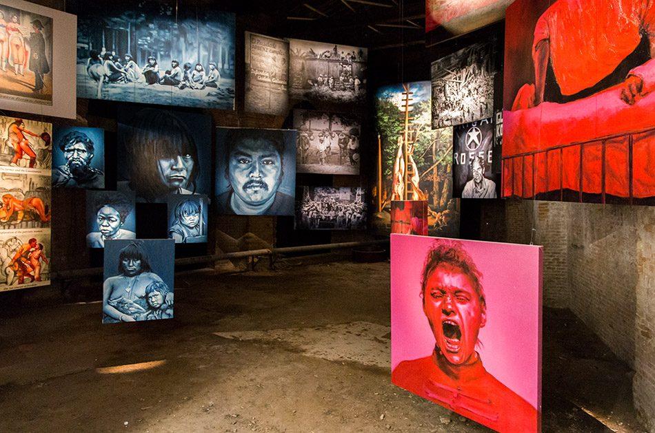 Fabian Fröhlich, Biennale di Venezia 2019, Arsenale, Chile Pavilion, Voluspa Jarpa, Subaltern Portraits Gallery