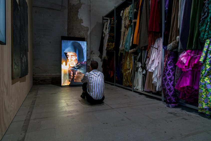 Fabian Fröhlich, Biennale di Venezia 2019, Arsenale, Ed Atkins, Old Food
