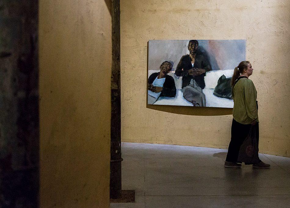 Fabian Fröhlich, Biennale di Venezia 2019, Arsenale, Ghana Pavilion, Lynette Yiadom Boakye