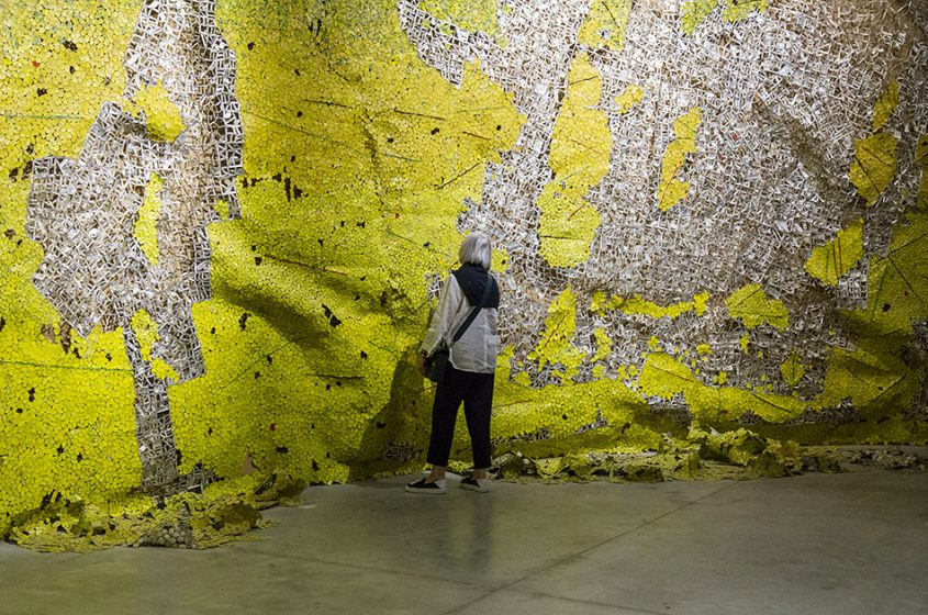 Fabian Fröhlich, Biennale di Venezia 2019, Arsenale, Ghana Pavilion, El Anatsui, Opening of Time