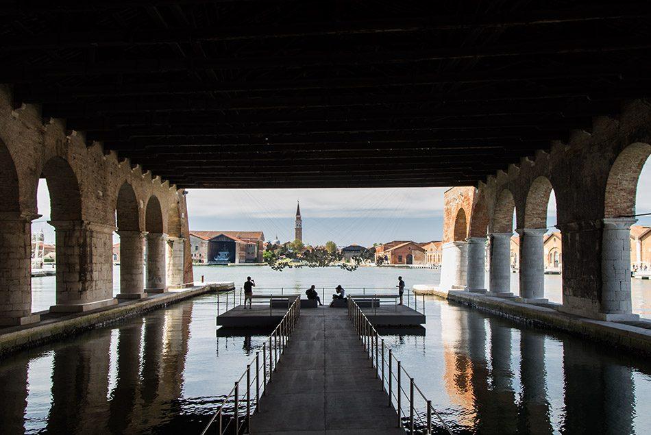 Fabian Fröhlich, Biennale di Venezia 2019, Arsenale, Tomás Saraceno, Aero(s)cene