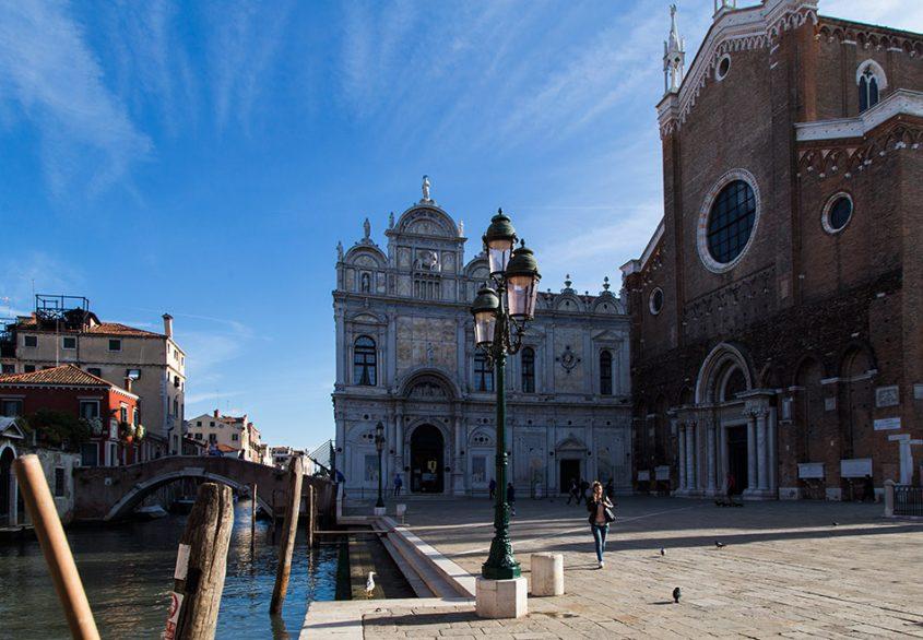 Fabian Fröhlich, Venedig, Campo Santi Giovanni e Paolo