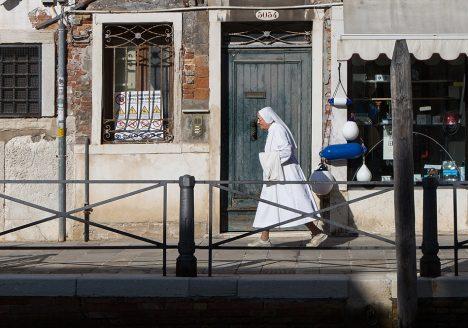 Fabian Fröhlich, Venedig, Nonne, Fondamenta S. Giorgio Schiavoni