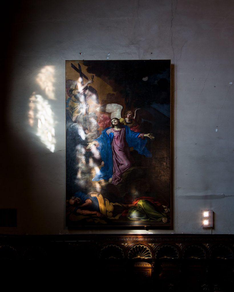 Fabian Fröhlich, Venedig, Chiesa di San Zaccaria,Capella di Sant'Atanasio, Michele Desubleo, Cristo nell'orto