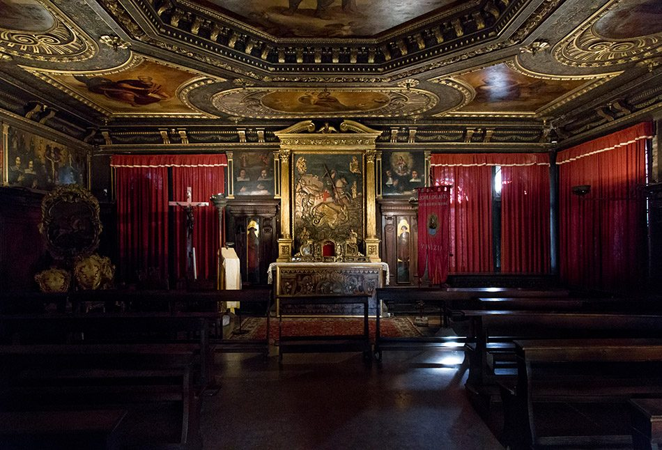 Fabian Fröhlich, Venedig, Scuola di San Giorgio degli Schiavoni, first floor (Sala dell'Albergo)