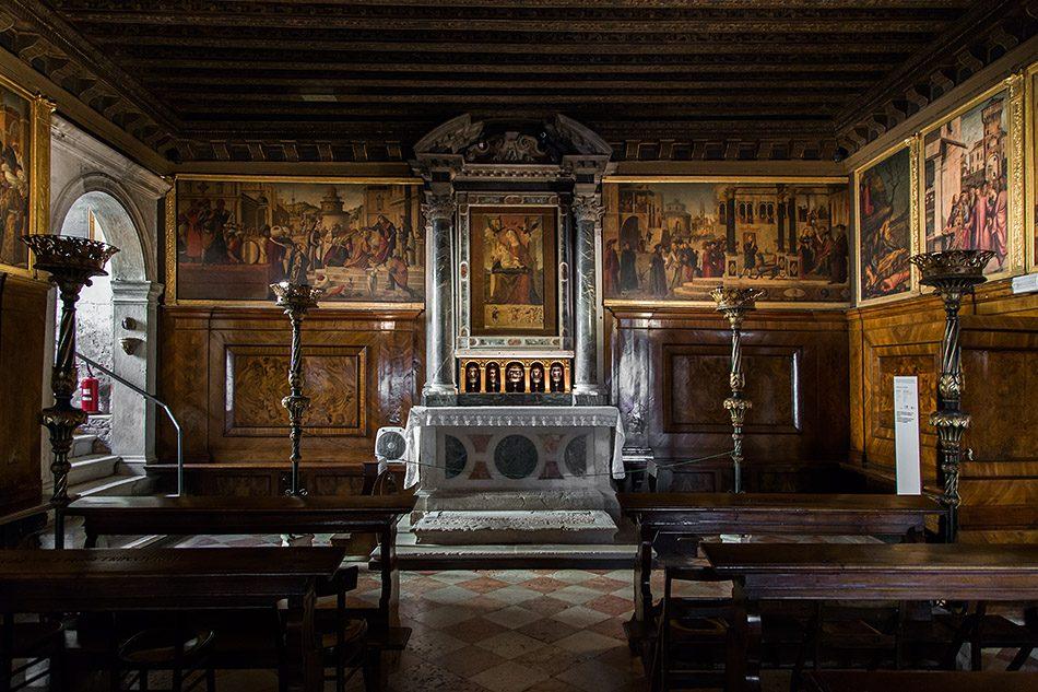 Fabian Fröhlich, Venedig, Scuola di San Giorgio degli Schiavoni