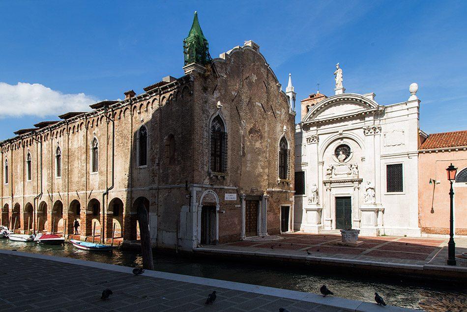 Fabian Fröhlich, Venedig, Cannaregio, Chiesa dell'Abbazia della Misericordia