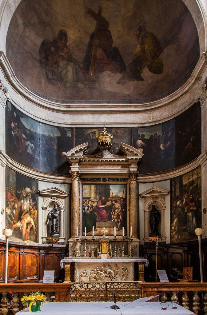Fabian Fröhlich, Venedig, San Giovanni Grisostomo, Altarpiece by Sebastiano del Piombo