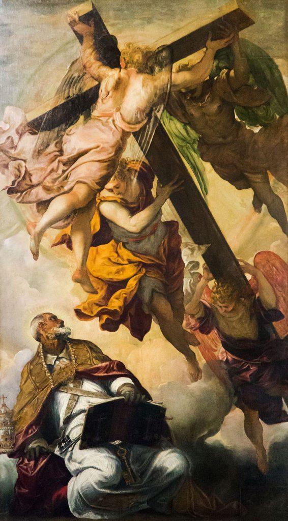 Fabian Fröhlich, Venedig, Cannaregio, Santa Maria dell' Orto, Tintoretto, ,Vision des heiligen Petrus