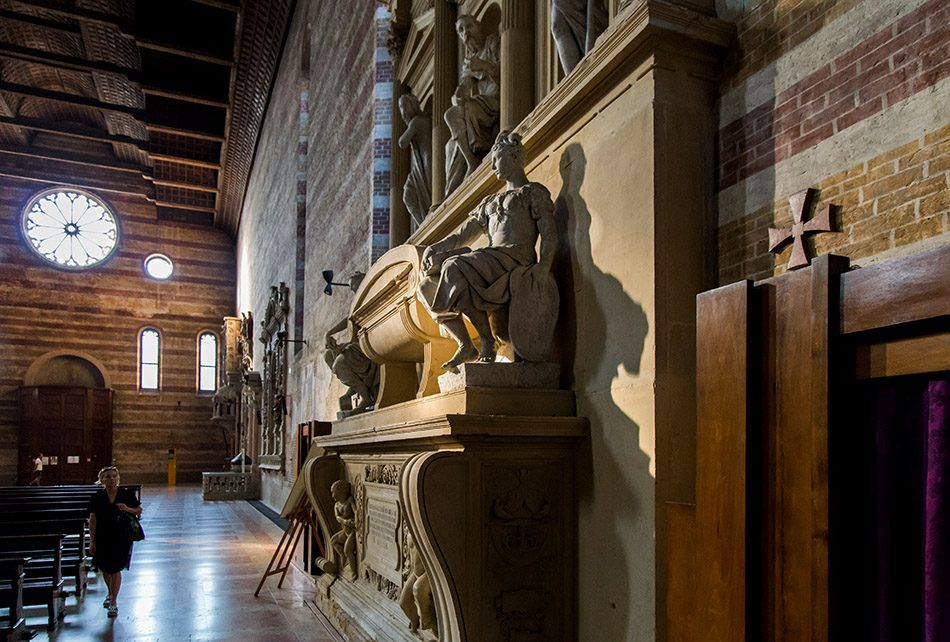 Fabian Fröhlich, Padova, Chiesa degli Eremitani