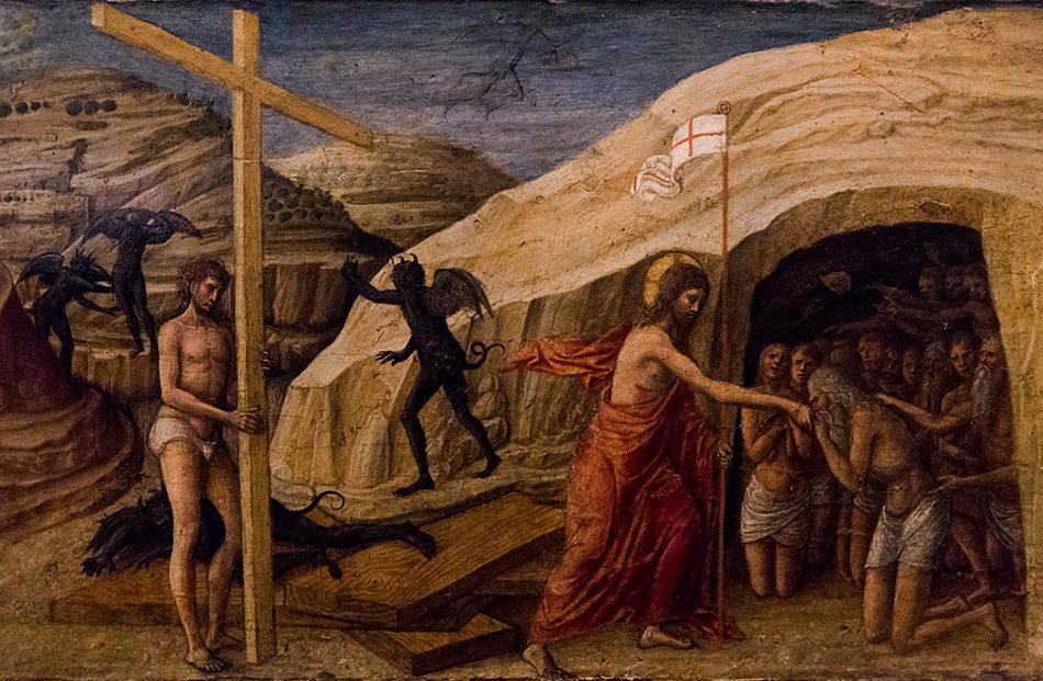 Padova, Musei Civici agli Eremitani, Museo d'Arte Medievale e Moderna, Jacopo Bellini, Descesa di cristo al limbo