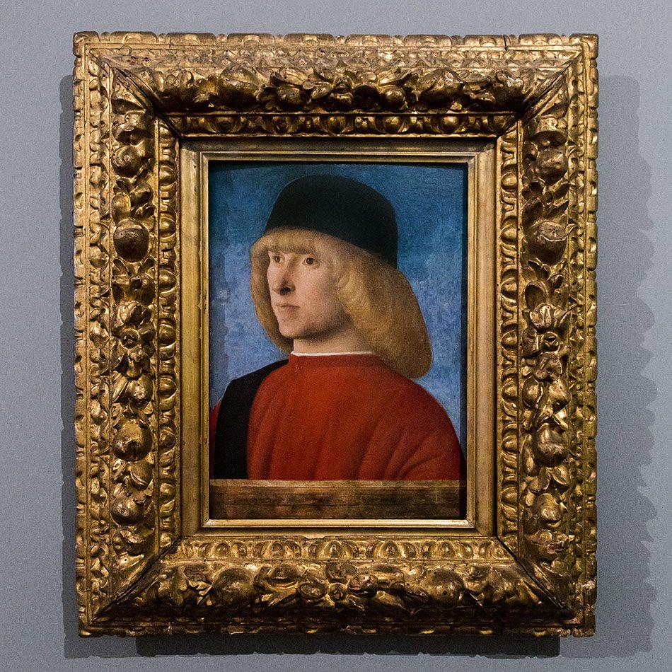 Padova, Musei Civici agli Eremitani, Museo d'Arte Medievale e Moderna, Giobanni Bellini, Ritratto di giovane senatore