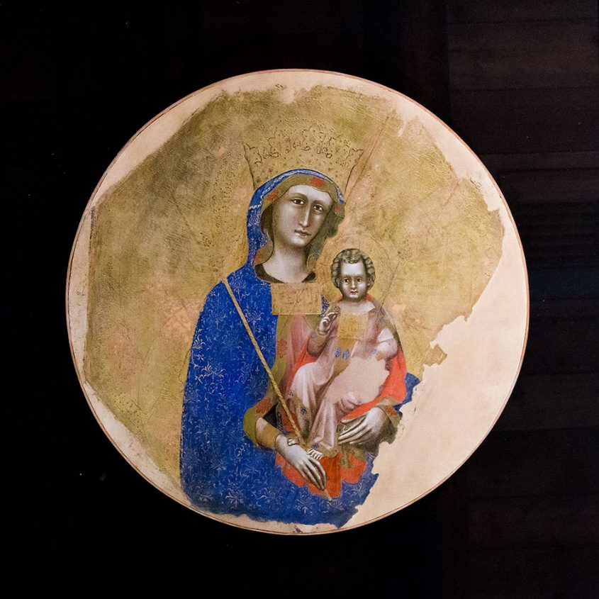 Padova, Musei Civici agli Eremitani, Museo d'Arte Medievale e Moderna, Guariento di Arpo , Madonna col Bambini