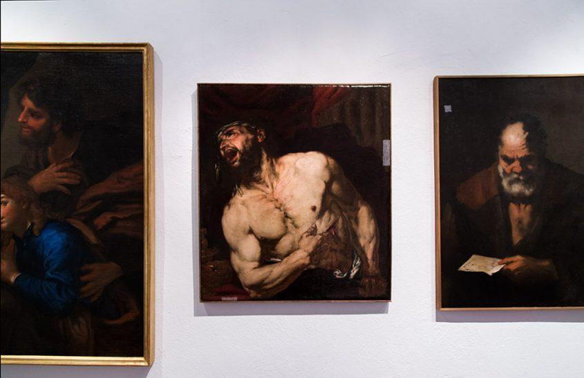 Padova, Musei Civici agli Eremitani, Museo d'Arte Medievale e Moderna, Giambattista Langetti, Morte di Catone