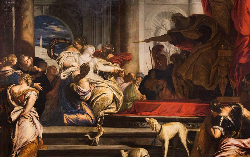 Padova, Musei Civici agli Eremitani, Museo d'Arte Medievale e Moderna, Valentin Lefevre, Esther before Ahasuerus