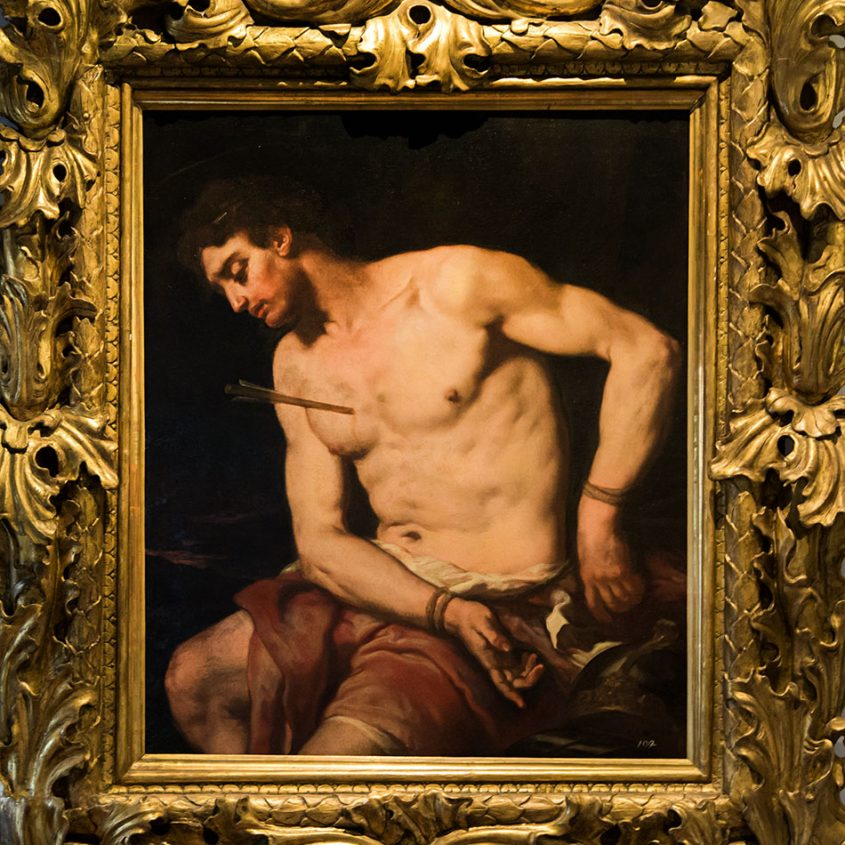 Padova, Musei Civici agli Eremitani, Museo d'Arte Medievale e Moderna, Johann Carl Loth, San Sebastiano