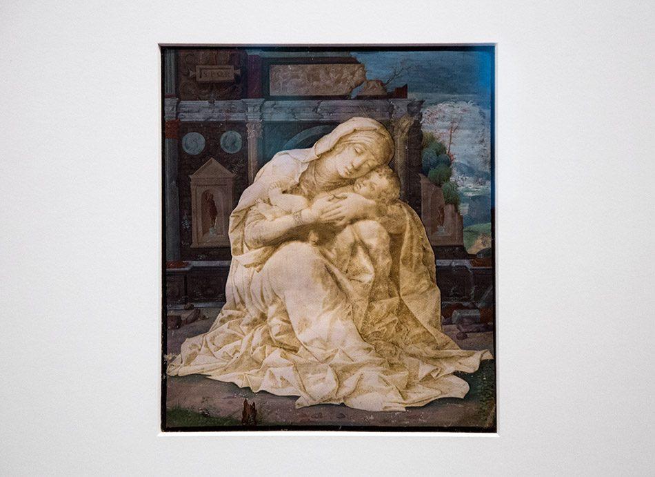 Padova, Musei Civici agli Eremitani, Museo d'Arte Medievale e Moderna, Andrea Mantegna, Madonna della Tenerezza