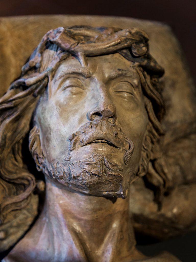 Padova, Musei Civici agli Eremitani, Museo d'Arte Medievale e Moderna, Guido Mazzoni, , Cristo Morto