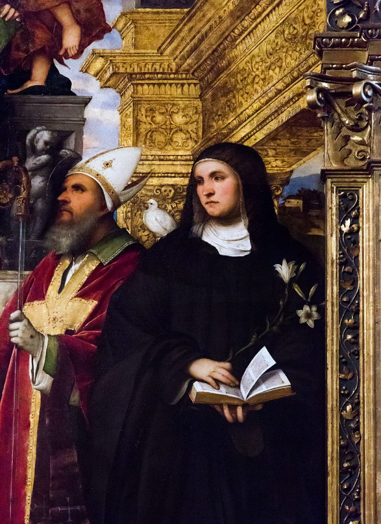Padova, Musei Civici agli Eremitani, Museo d'Arte Medievale e Moderna, Romanino, Pala Santa Giustina