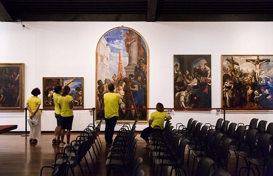 Padova, Musei Civici agli Eremitani, Museo d'Arte Medievale e Moderna, Veronese and Tintoretto