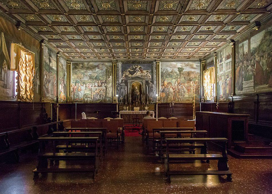 Fabian Fröhlich, Padova, Scuola del Santo