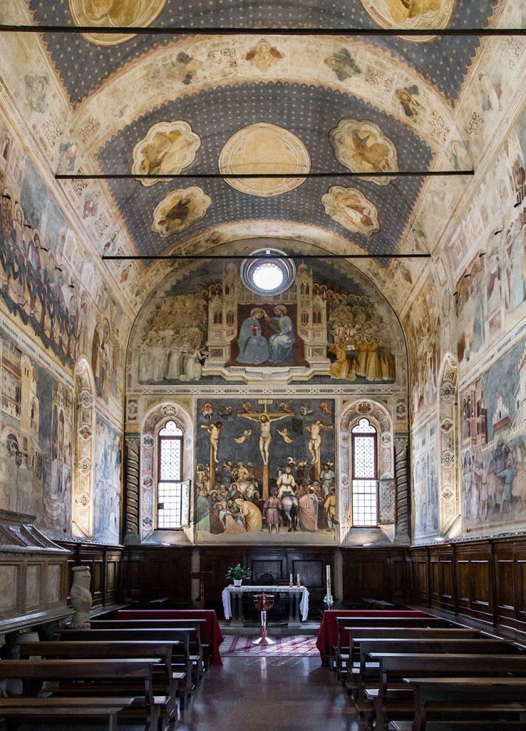 Fabian Fröhlich, Padova, Fresko by Altichiero da Zevio at Oratorio di San Giorgio