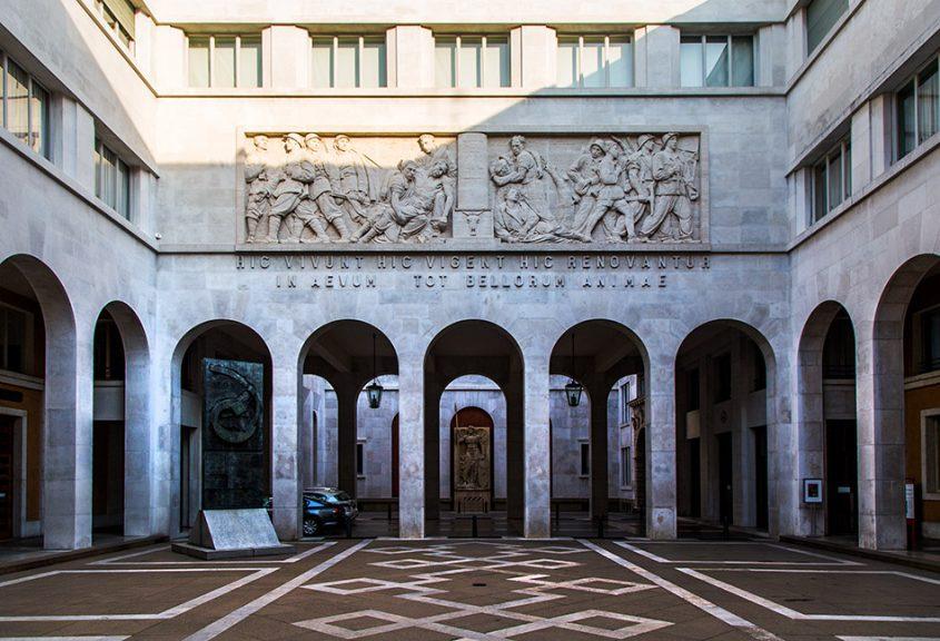 Fabian Fröhlich, Padova, Palazzo del Bo