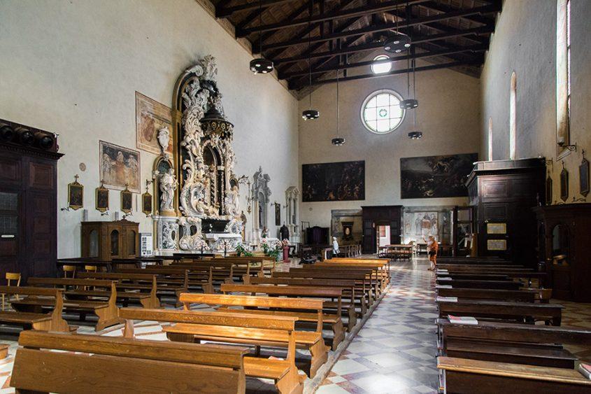 Fabian Fröhlich, Padova, Chiesa di Santa Maria dei Servi
