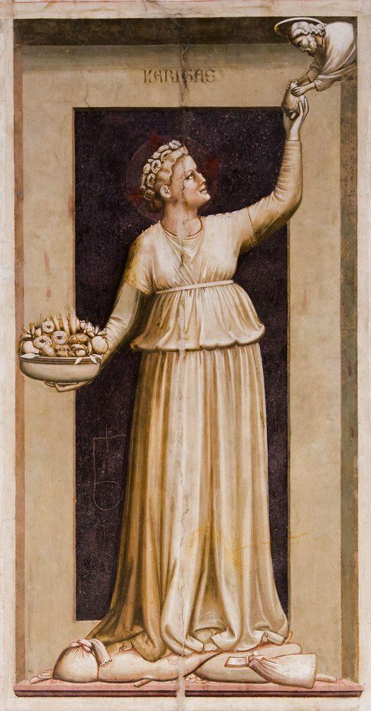 Fabian Fröhlich, Padova, Cappella degli Scrovegni, Cappella degli Scrovegni, Giotto di Bondone, Charity