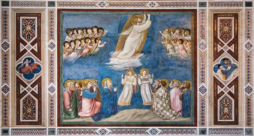 Fabian Fröhlich, Padova, Cappella degli Scrovegni, Giotto di Bondone, Ascension