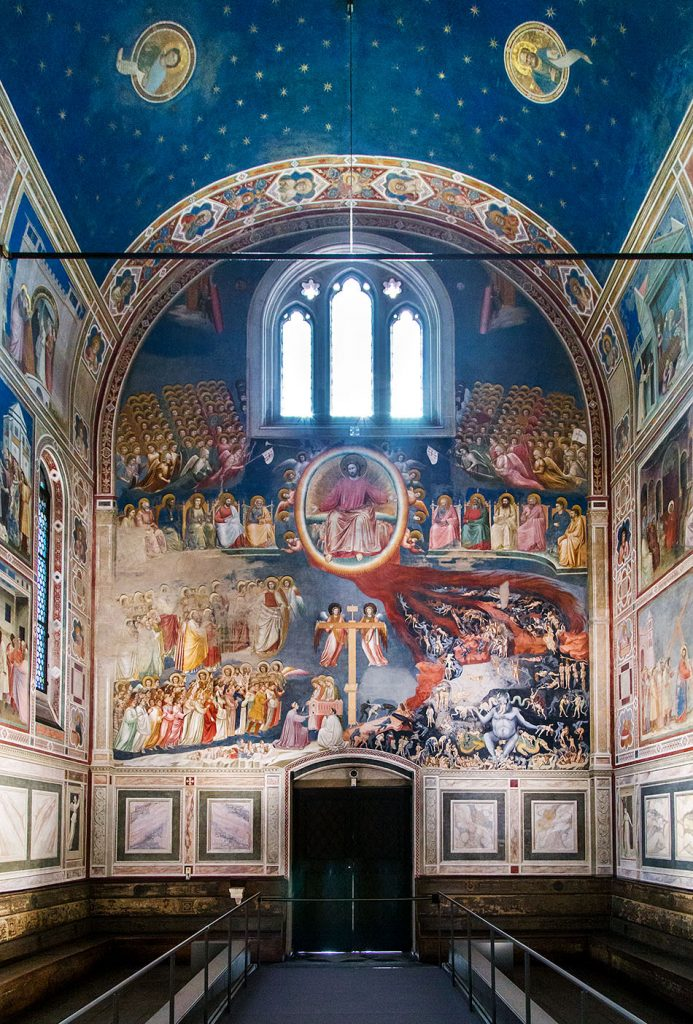 Fabian Fröhlich, Padova, Cappella degli Scrovegni, The Last judgement by Cappella degli Scrovegni, Giotto di Bondone