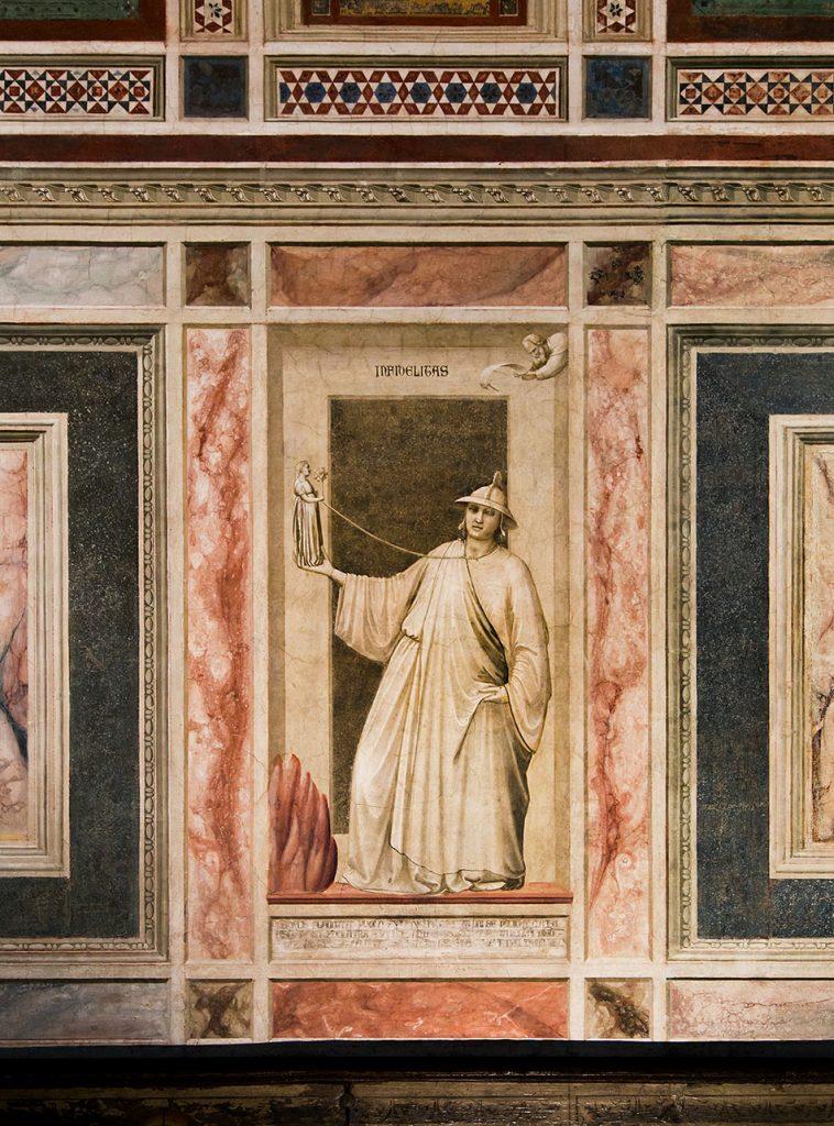 Fabian Fröhlich, Padova, Cappella degli Scrovegni, Giotto di Bondone, Infidelity