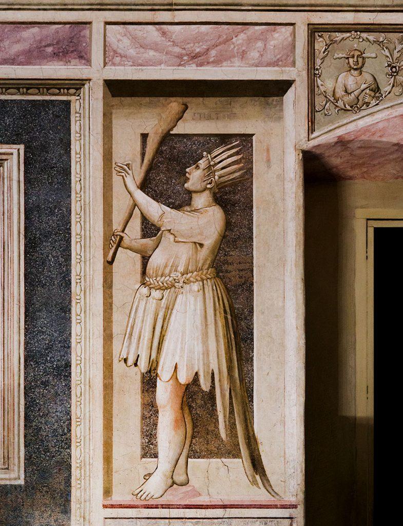 Fabian Fröhlich, Padova, Cappella degli Scrovegni, Giotto di Bondone, Foolishness