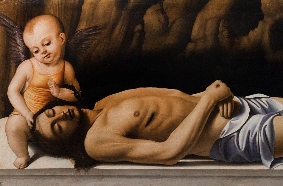 Gallerie dell'Accademia di Venezia, Marco Basaiti, Cristo morto tra due angeli