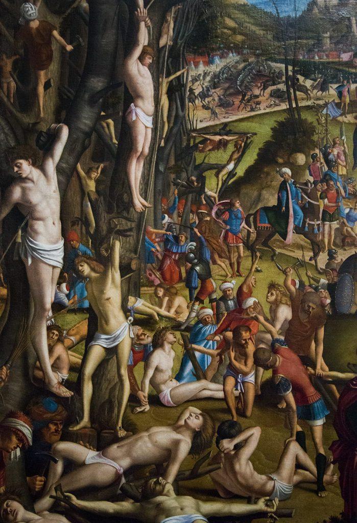 Gallerie dell'Accademia di Venezia, Vittore Carpaccio, Crocifissione e apoteosi dei diecimila martiri del monte Ararat