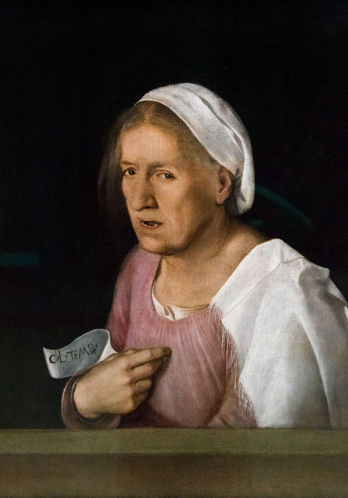 Gallerie dell'Accademia di Venezia, Giorgione, La vecchia