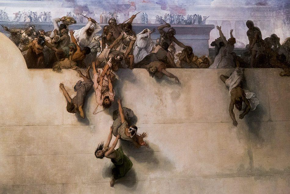 Gallerie dell'Accademia di Venezia, Francesco Hayez, La distruzione del tempio di Gerusalemme