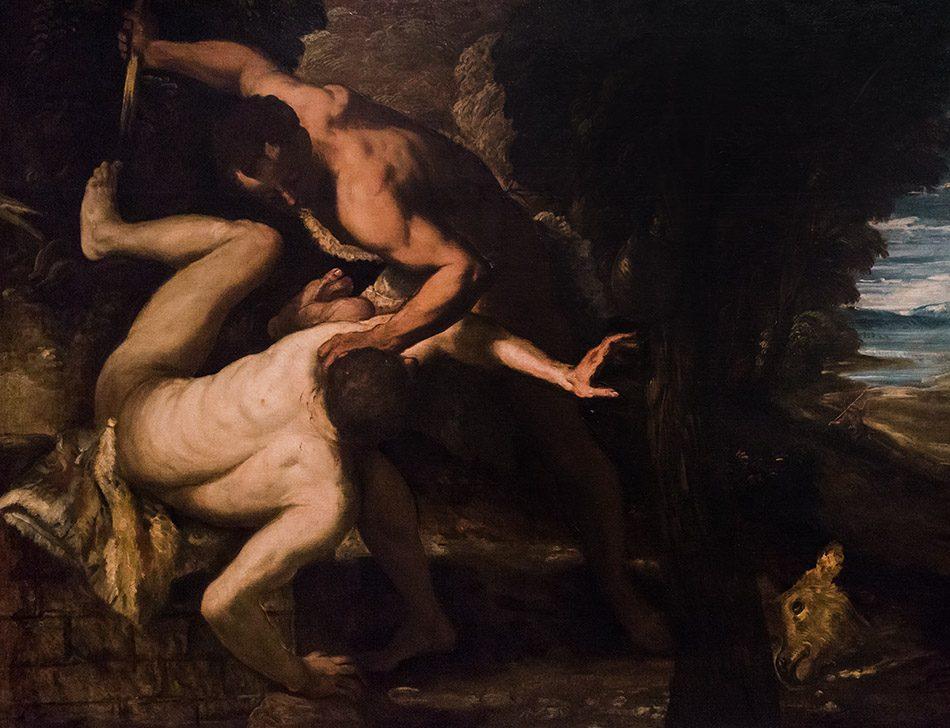 Gallerie dell'Accademia di Venezia, Jacopo Tintoretto, Caino e Abele