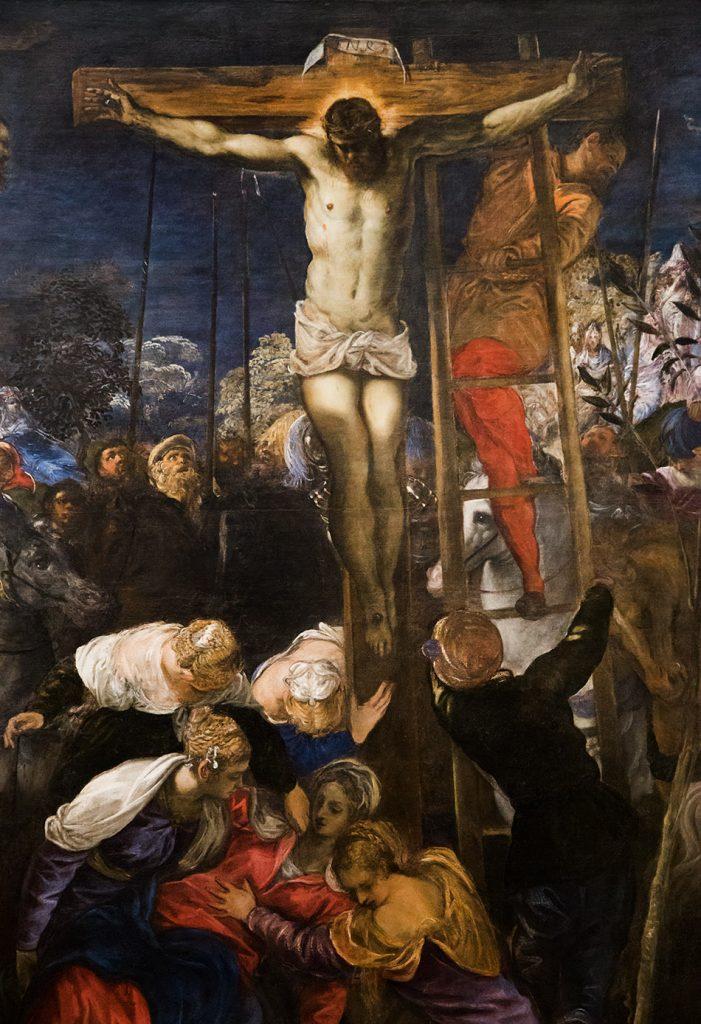 Gallerie dell'Accademia di Venezia, Jacopo Tintoretto, Crocifissione
